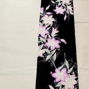 花古今 綿絽浴衣~淡く美しく咲く百合~