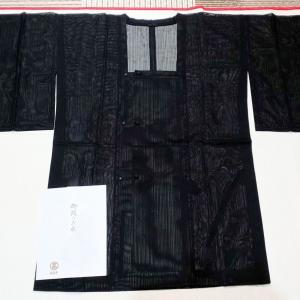 正絹の紗の雨コート~高島屋誂え~