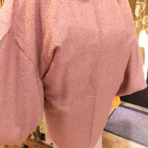 ひげ紬の羽織り~秋冬に暖かい羽織り~
