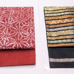 名古屋帯追加しました!~川島織物、絞り、博多織り、辻ヶ花~