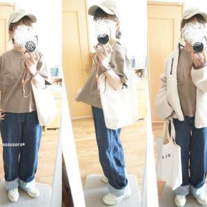 【着画】GU メンズ シープボアフリースジャケット着てみました^^