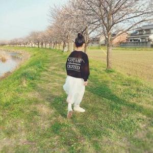 【着画】娘のGU上下コーデ♪グローバルワークの子供服もSALE!!
