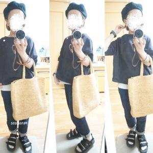 【着画】SM2 blue、hint hint^^夏のベレー帽コーデ♪NIMESのキャリー品半額をピックアップ!!