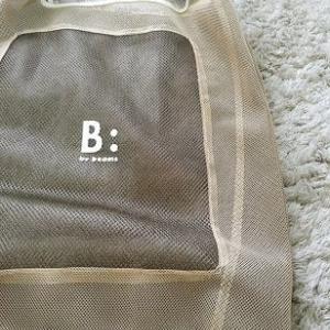 【写真】B:MING by BEAMSのマーケットバッグ!!可愛いです!!