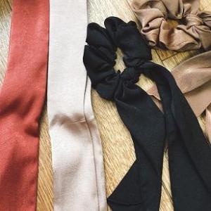 【写真】リボンシュシュ付け画。福岡応援物産展のクーポンがすごい!!