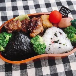 【写真】王道のおにぎり弁当。今日は楽天カードでのお買い物がお得!!