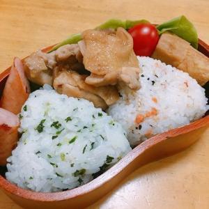 【写真】お弁当2日分。買ったもの~コーデュロイのサロペット!!