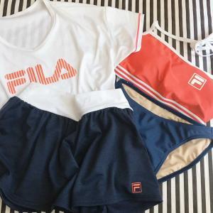 【写真】娘のFILAの水着をポチっとしてたの届きました!3980円以上でポイント2倍のエントリーも!!