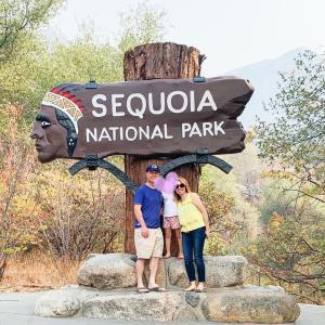 セコイア国立公園行ってきました③Tokopah Valley Trail