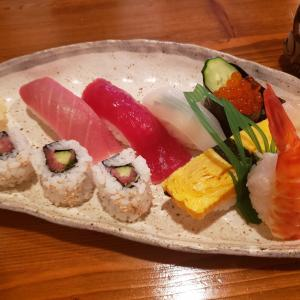 地元の小さなお寿司屋さん