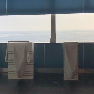 海が見えるトイレ