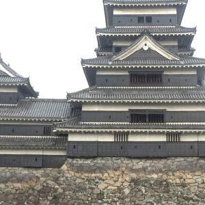 松本城の立面図