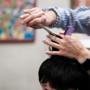 髪切って、がんばる!