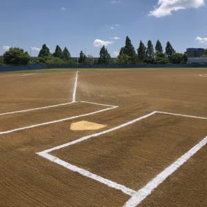 草野球して、がんばる!