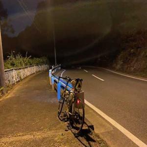 夜練100km道志村・・ のはずがスポーク折損。またかよ!