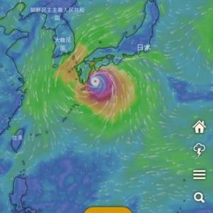 また?台風予測ですよ