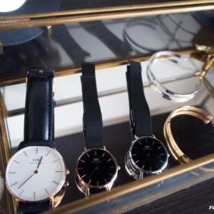 メタリックな時計が仲間入り♪