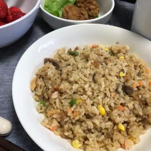 松山での日々・2日目の食事