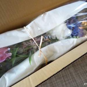 お任せ生花を飾る♪
