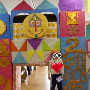幼稚園最後の作品展