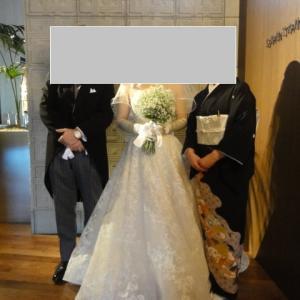 先日は娘の結婚式でした。
