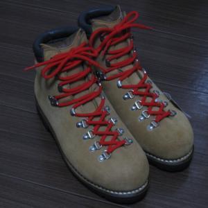 【備忘録】重登山靴(SB7)