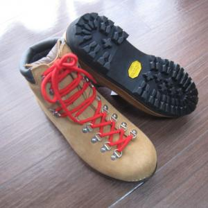 新調した重登山靴を履いて伊豆ヶ岳へ