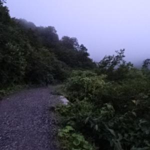 猿倉~白馬大雪渓~白馬三山~鑓温泉~猿倉