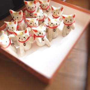 Lykkelig『What a Wonderful Nyanco リュケリのネコ雑貨展3』 にお届けしたもの ('19 /6/8 〜 6/18)金沢