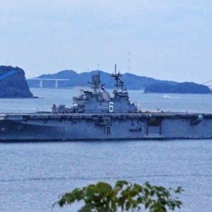 強襲揚陸艦「アメリカ」~新母港の佐世保へ