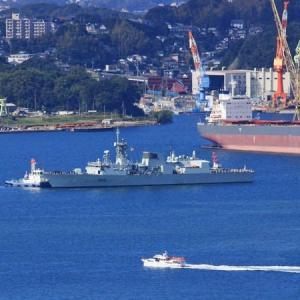 再寄港~カナダ海軍「ウィニペグ」