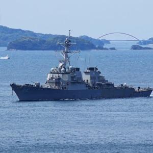 ミサイル駆逐艦「バリー」