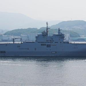 出港~フランス海軍「トネール」