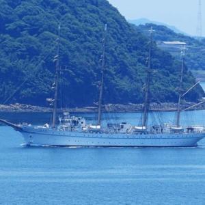 帆船「海王丸」が佐世保へ~その1