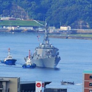 ミサイル駆逐艦「ベンフォールド」