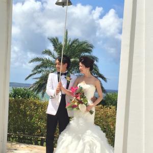 お客様お写真 イタリア マーメイドウェディングドレス