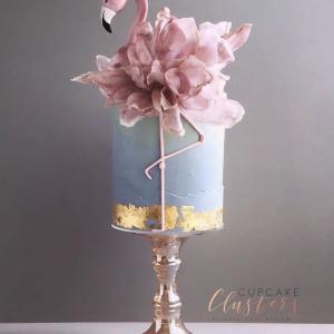 デザイン重視のケーキ