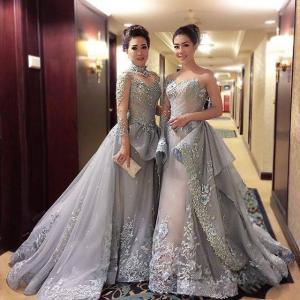 アジアのリッチファミリードレス