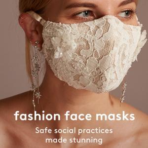 ウェディング用のマスク