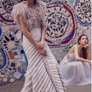 ウェディングドレスのお洒落な写真