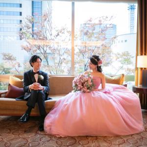 ヴェラウォンのブラッシュドレス