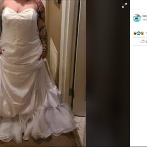 購入ドレスについてびっくりのお話