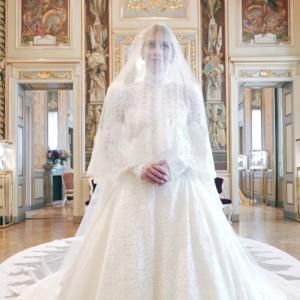 イギリスのプリンセスのウェディングドレス