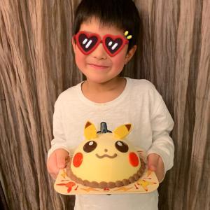 次男7歳の誕生日でした