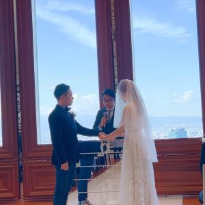 親友の結婚式と着物ドレス季縁KIEN