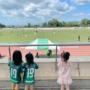 久しぶりのサッカー観戦