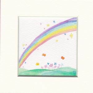 *虹の日だなんて♪うれしいな