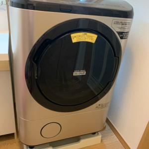 洗濯機の故障 日立さんみえました