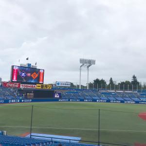 今年初!野球観戦☆神宮球場