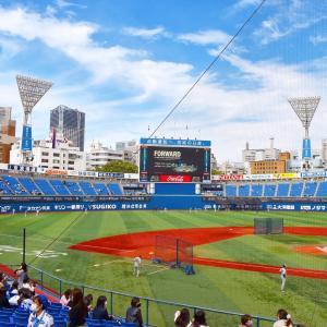 今年初☆横浜スタジアム〜観客数15,833人〜